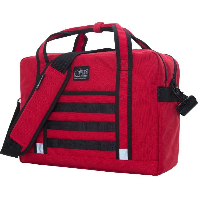 マンハッタンポーテージ メンズ ショルダーバッグ バッグ Yorkville Messenger Bag Red