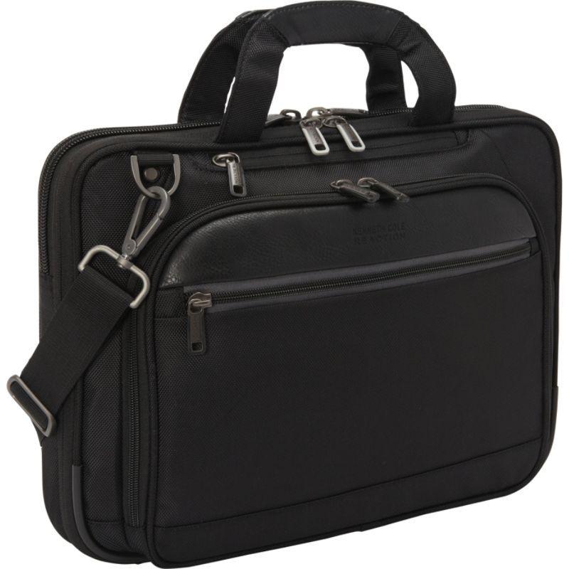 ケネスコール メンズ スーツケース バッグ No Easy Solutions Laptop Briefcase Black