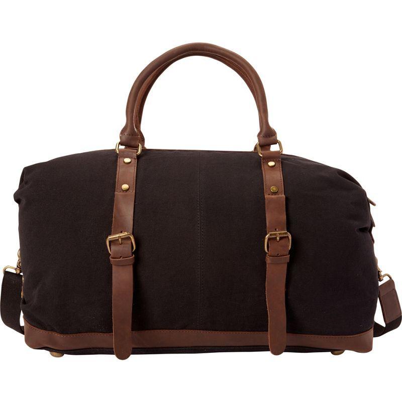 ヴァガボンドトラベラー メンズ スーツケース バッグ Classic Canvas Medium Duffle Bag- eBags Exclusive Black