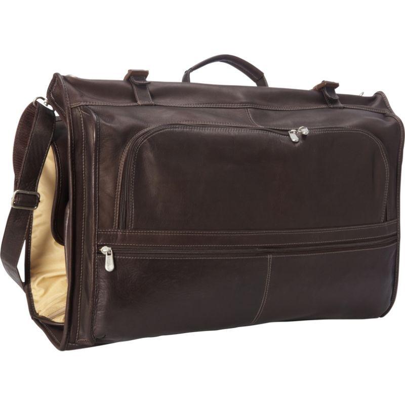 ピエール メンズ スーツケース バッグ Tri-Fold Garment Bag Chocolate