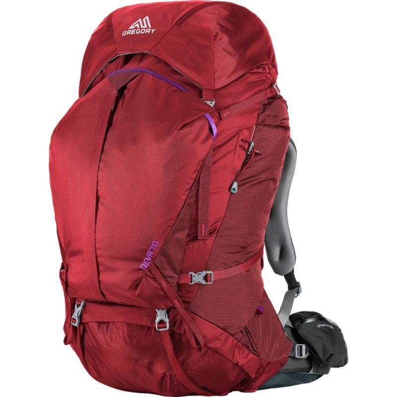 グレゴリー メンズ バックパック・リュックサック バッグ Deva 70 Pack Ruby Red - Medium