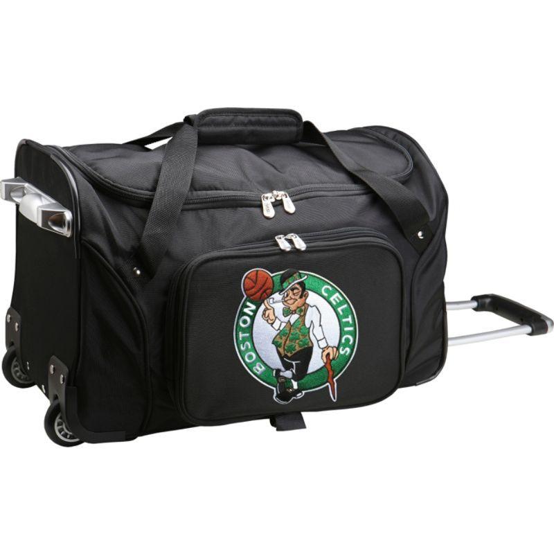 デンコスポーツ メンズ スーツケース バッグ NBA 22 Rolling Duffel Boston Celtics