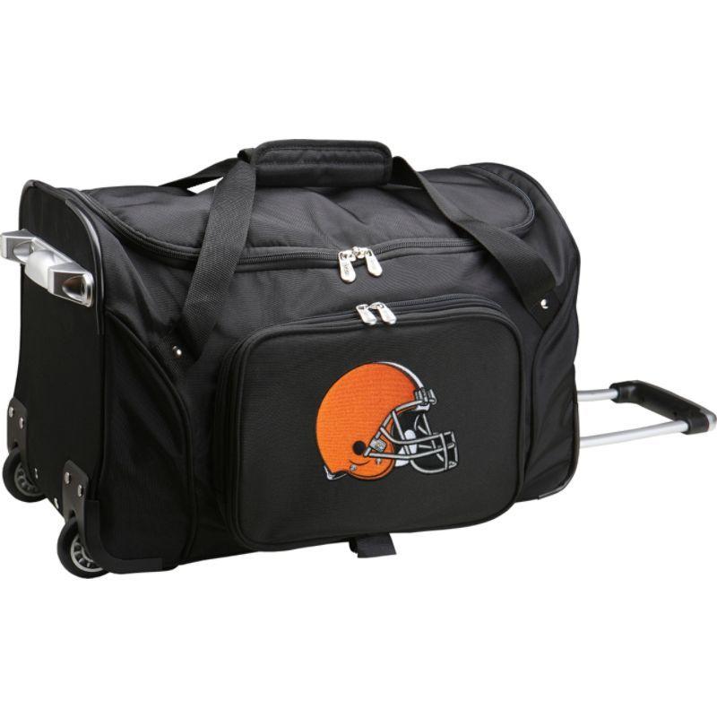 デンコスポーツ メンズ スーツケース バッグ NFL 22 Rolling Duffel Cleveland Browns