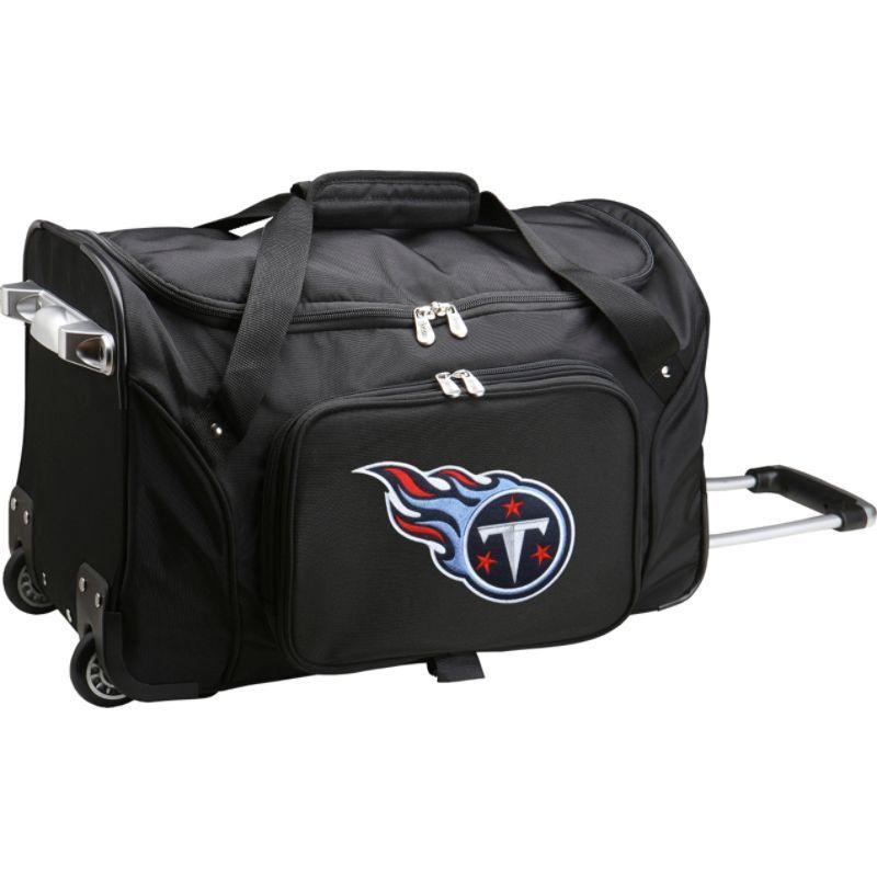 デンコスポーツ メンズ スーツケース バッグ NFL 22 Rolling Duffel Tennessee Titans