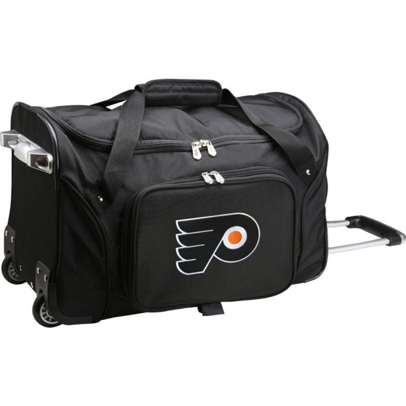 デンコスポーツ メンズ スーツケース バッグ NHL 22 Rolling Duffel Philadelphia Flyers