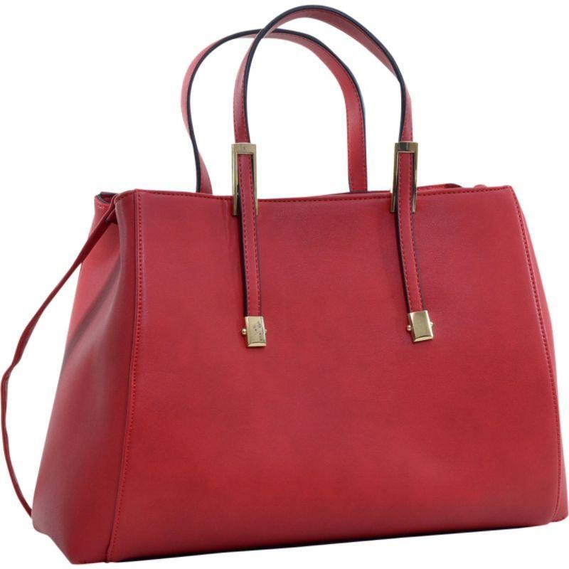 ダセイン メンズ トートバッグ バッグ Briefcase Tote with Removable Shoulder Strap Red