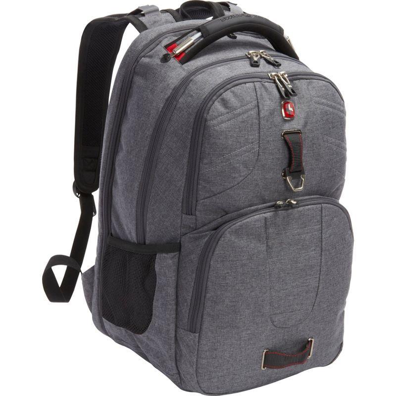 スイスギアトラベルギア メンズ バックパック・リュックサック バッグ Scansmart Backpack 5903 - EXCLUSIVE Heather Grey/Red