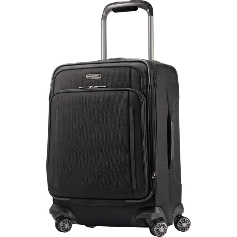サムソナイト メンズ スーツケース バッグ Silhouette XV Softside Spinner 21 Black
