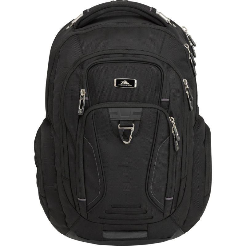 ハイシエラ メンズ バックパック・リュックサック バッグ Endeavor Elite Laptop Backpack Black