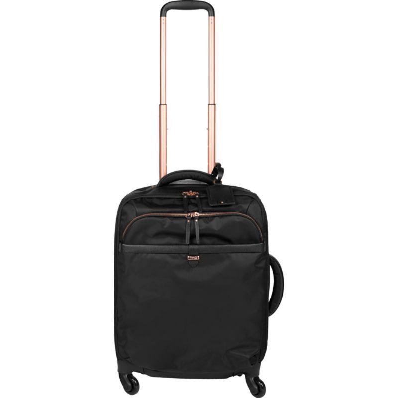 リパルトパリ メンズ スーツケース バッグ Plume Avenue 20 Carry-On Spinner Jet Black