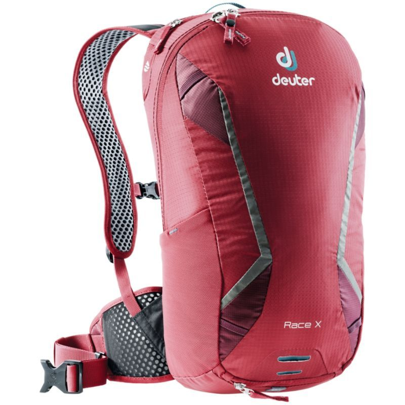 ドイター メンズ バックパック・リュックサック バッグ Race X Hydration Hiking Pack Cranberry/Maroon