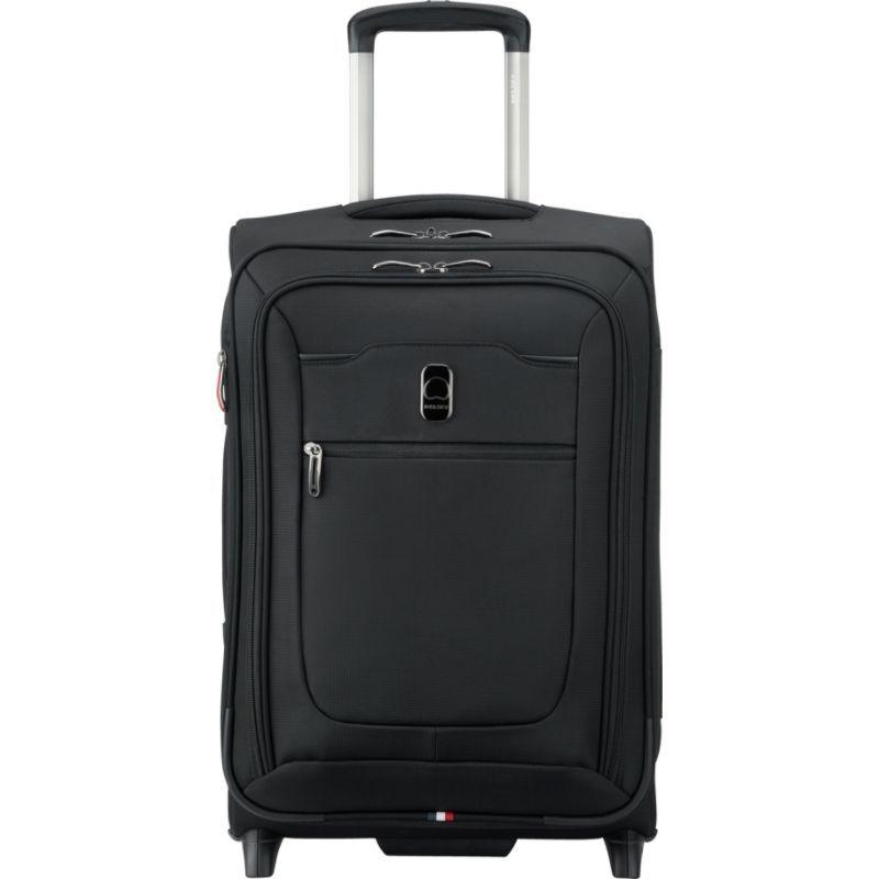 デルシー メンズ スーツケース バッグ Hyperglide Expandable 2 Wheel Carry-On Black