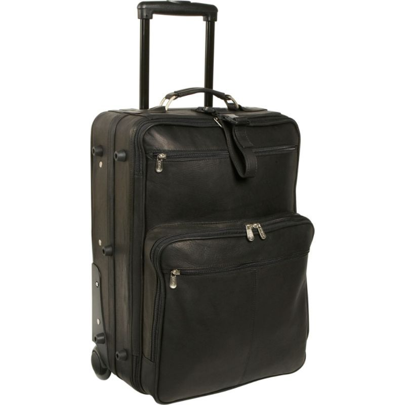 ピエール メンズ スーツケース バッグ 22 Wheeled Traveler Black