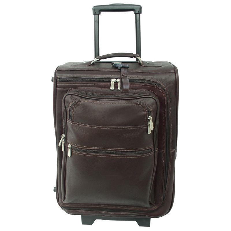ピエール メンズ スーツケース バッグ 19 Multi-Pocket Wheeler Chocolate