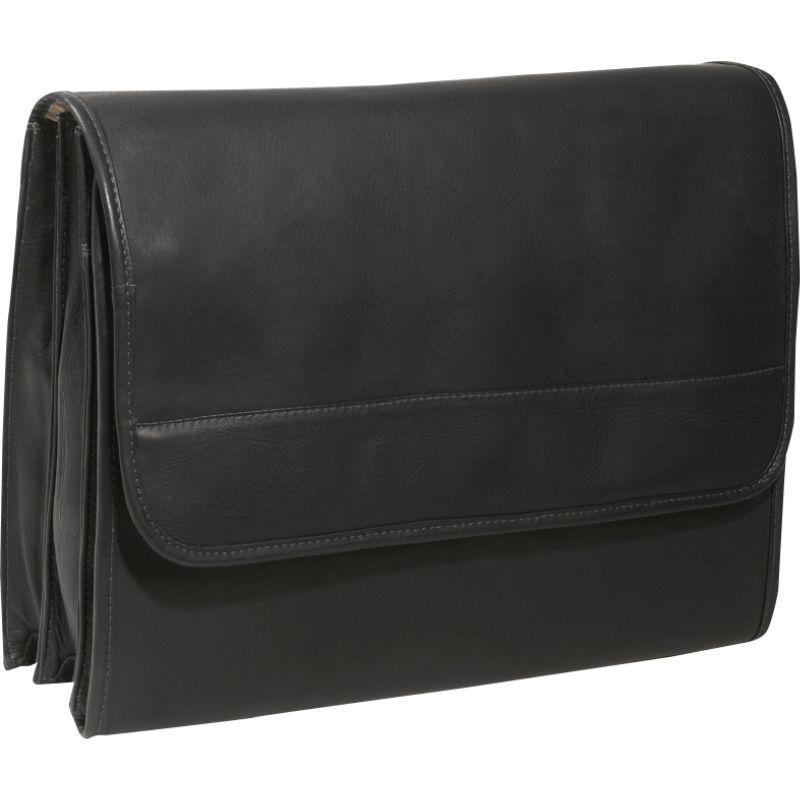 ピエール メンズ スーツケース バッグ Envelope Portfolio Black