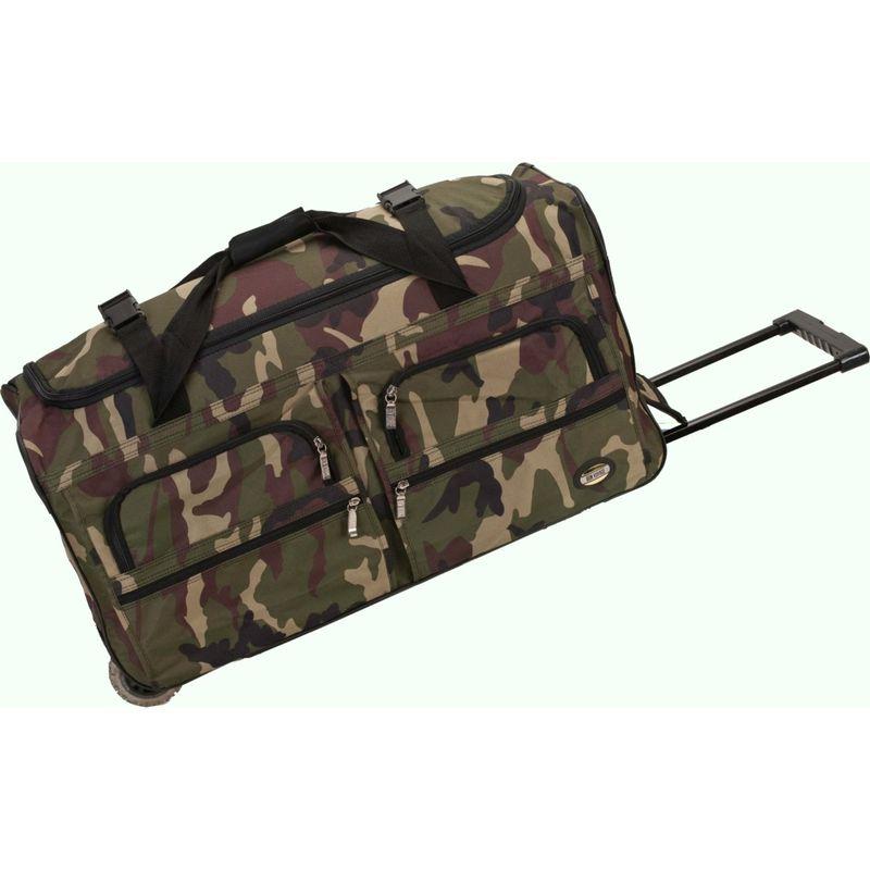 ロックランド メンズ スーツケース バッグ Voyage 2 30 Rolling Duffel Camouflage Green