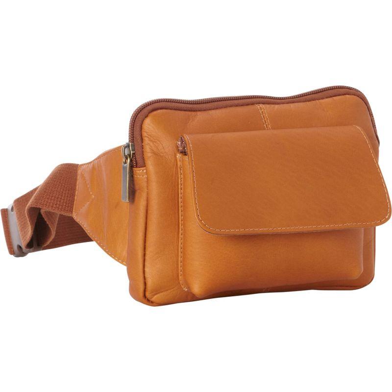 ルドネレザー メンズ ボディバッグ・ウエストポーチ バッグ Journey Waist Bag Tan