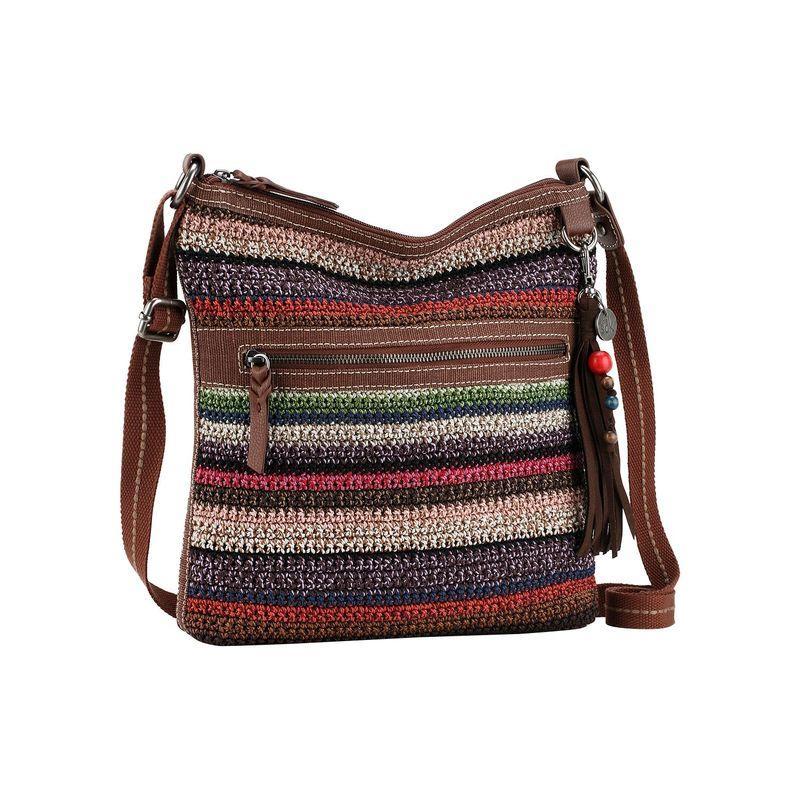 ザサック メンズ ボディバッグ・ウエストポーチ バッグ Lucia Crochet Crossbody Vagabond Stripe