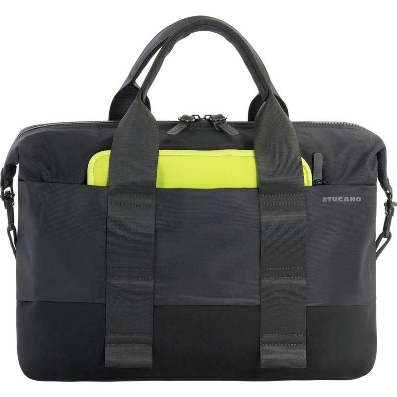 ツカーノ メンズ スーツケース バッグ Modo Laptop Briefcase Black