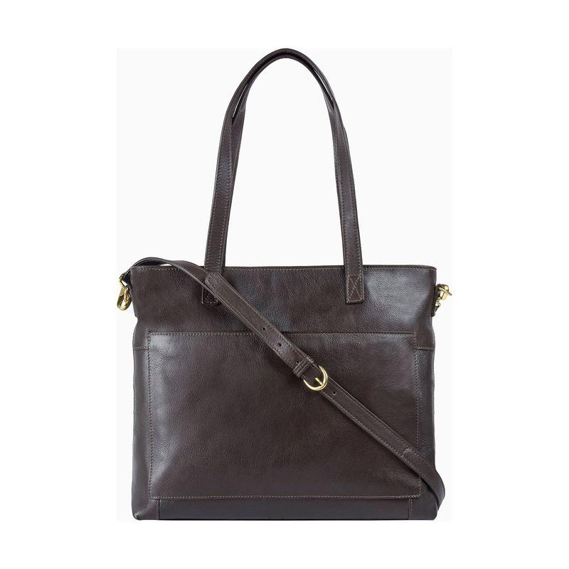 ハイデザイン メンズ ショルダーバッグ バッグ Sierra Shoulder Bag with Sling Strap Brown