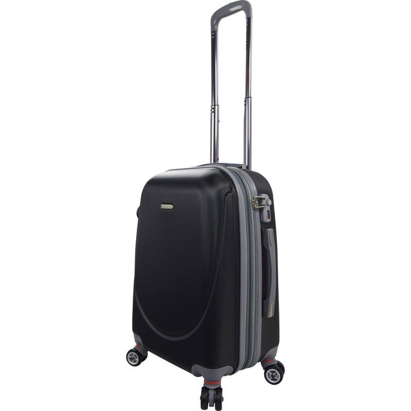 トラベラーズクラブ メンズ スーツケース バッグ Barnet 2.0 Premium 20 Carry-On with TSA Lock Black
