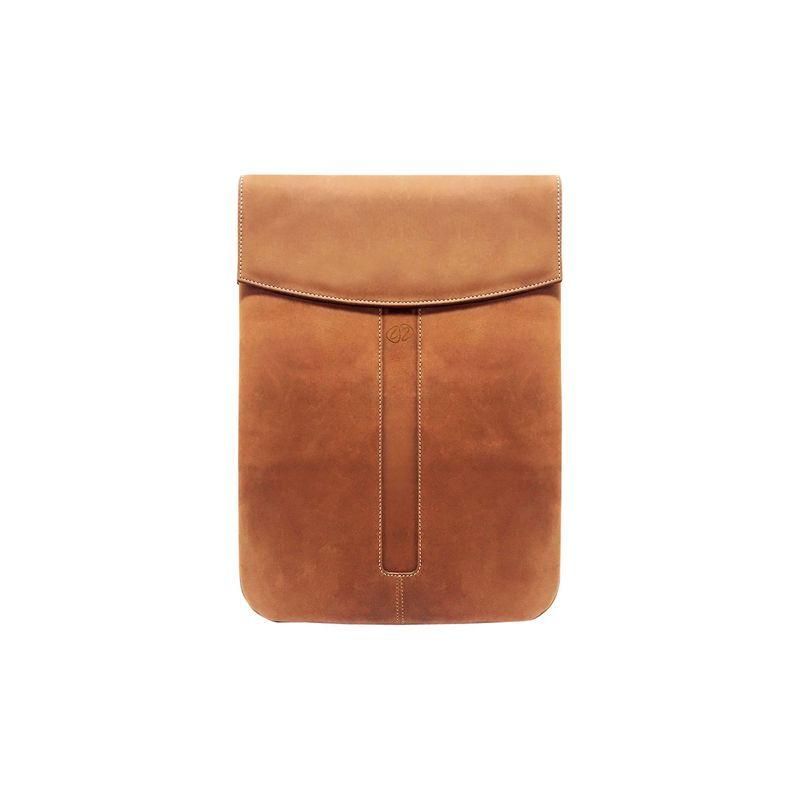 マックケース メンズ PC・モバイルギア アクセサリー Premium Leather iPad Pro 12.9 Sleeve Vintage