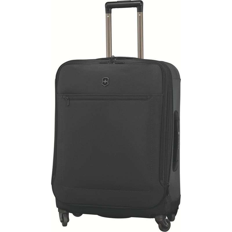 ビクトリノックス メンズ スーツケース バッグ Avolve 3.0 Medium Expandable Upright Black