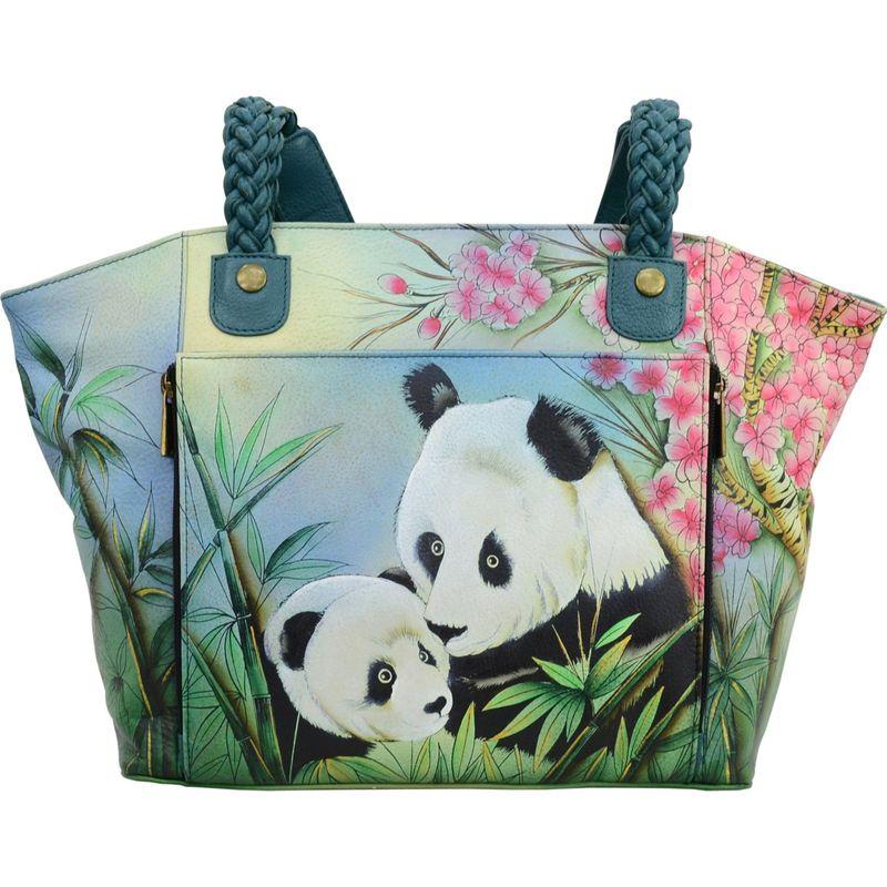 アンナバイアナシュカ メンズ トートバッグ バッグ Hand Painted East-West Organizer Tote Lovable Pandas