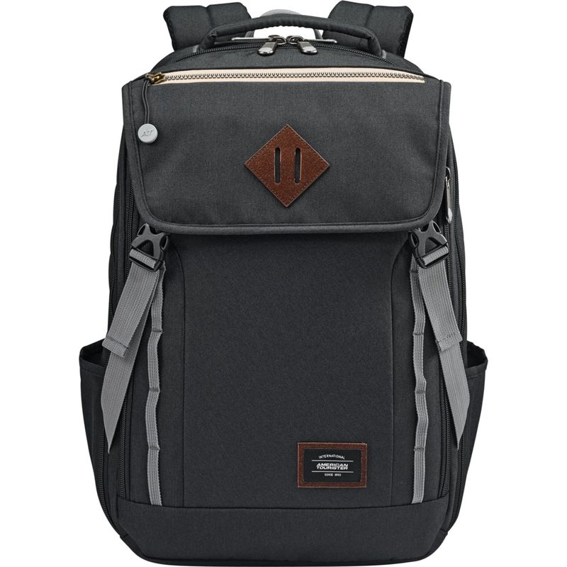 33ab25407d99 アメリカンツーリスター メンズ バックパック・リュックサック バッグ Dig Dug Laptop Backpack Black,  セイノーエコ:7a5aacc8 --- barg.af