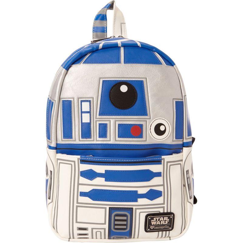 ラウンジフライ メンズ バックパック・リュックサック バッグ Star Wars R2-D2 Mini Backpack Blue