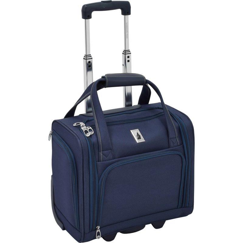 ロンドンフォグ メンズ スーツケース バッグ Softside 15 Under The Seat Bag Sapphire