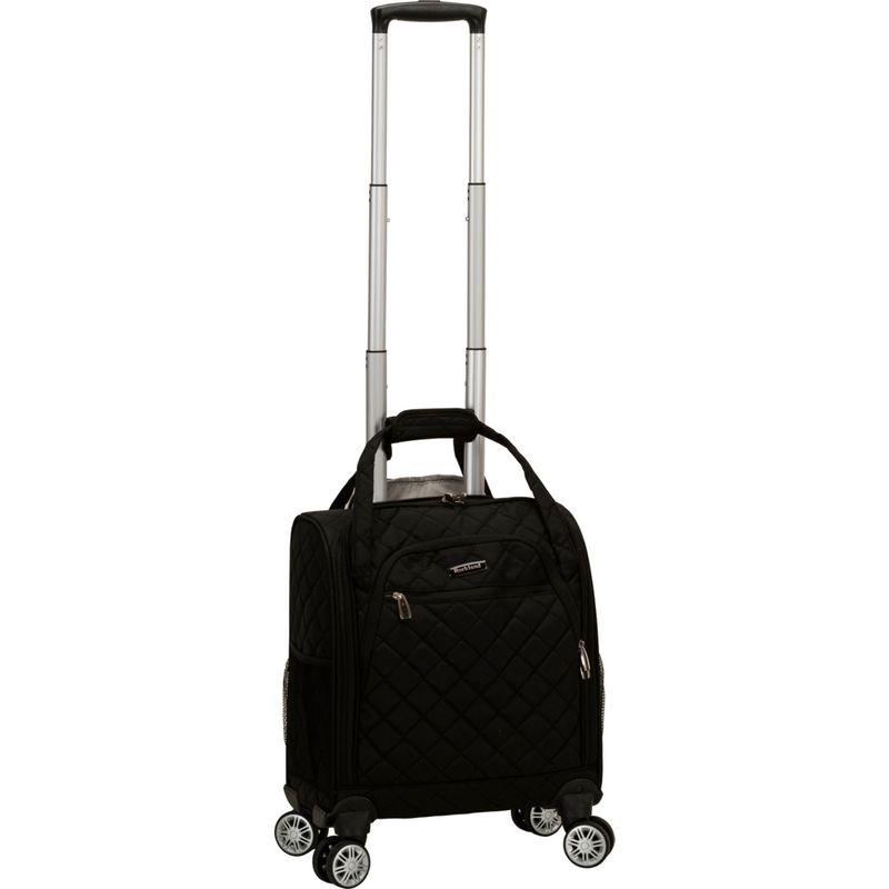 ロックランド メンズ スーツケース バッグ Melrose Wheeled Underseat Carry-On Spinner Black