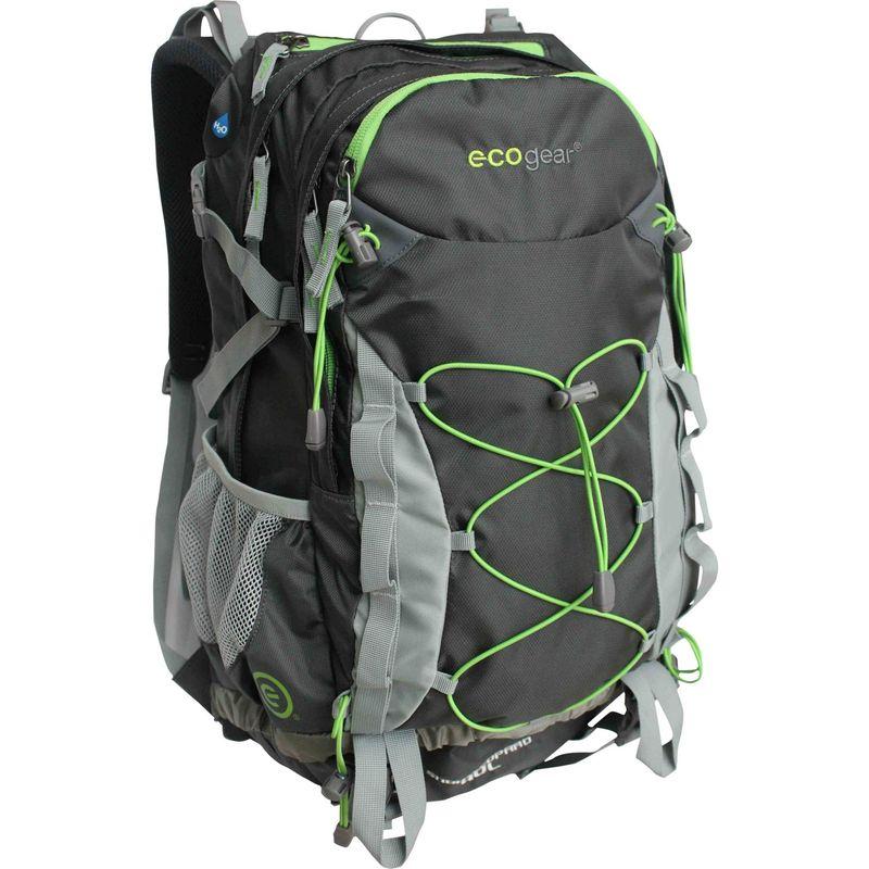 エコギアー メンズ バックパック・リュックサック バッグ Snow Leopard 40L Hiking Pack Charcoal