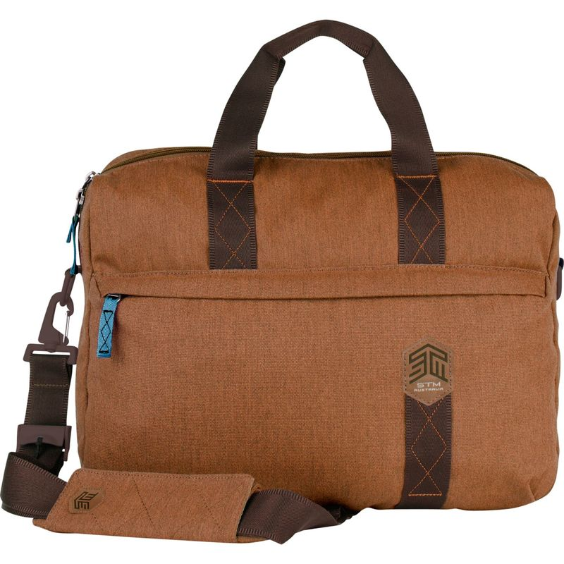 """STMグッズ メンズ スーツケース バッグ 15"""" Judge Messenger Bag Desert Brown"""