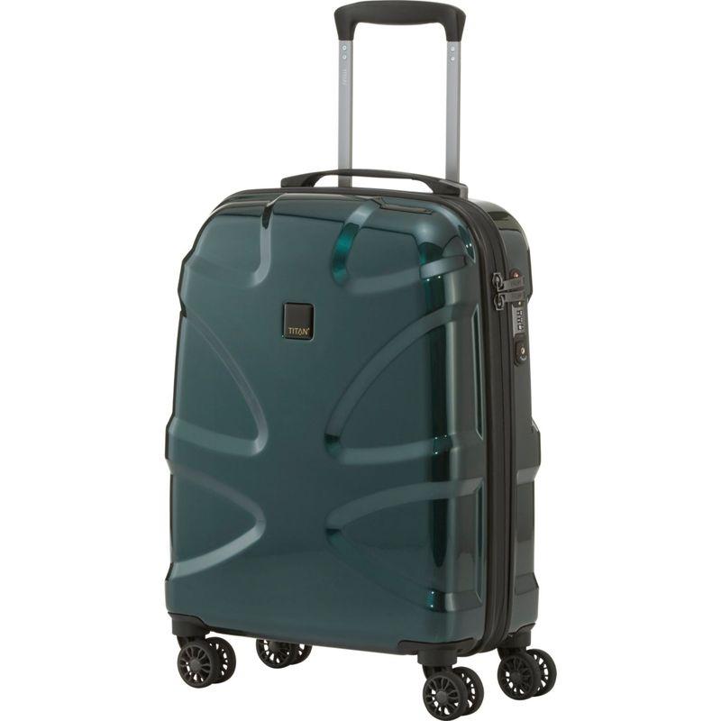 タイタンバッグス メンズ スーツケース バッグ X2 Hardside 21 Spinner CarryOn Smarad Green