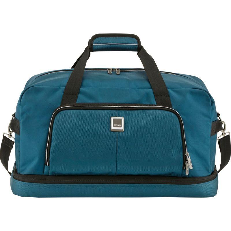 タイタンバッグス メンズ スーツケース バッグ Nonstop Multifunctional 21 Carry-On Duffel Travelbag Deep Petrol