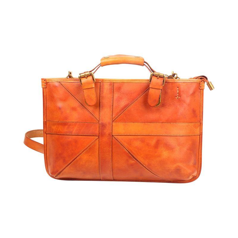 フォレッセンス メンズ スーツケース バッグ Soho Briefcase Camel