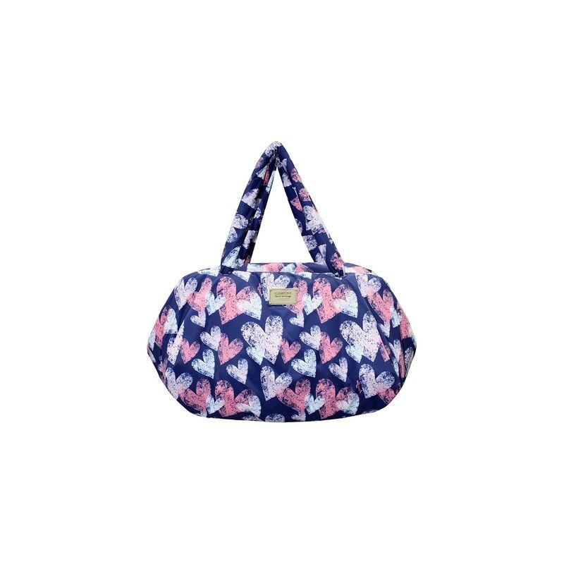 ヴォヴァロヴァ メンズ スーツケース バッグ Travel Bag Dancing Heart - Blue