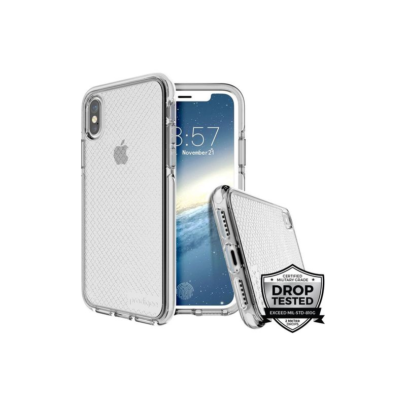 プロディジー メンズ PC・モバイルギア アクセサリー Safetee Case for iPhone 7/8 Sliver