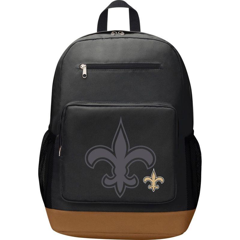 NFL メンズ バックパック・リュックサック バッグ PlayMaker Laptop Backpack New Orleans Saints