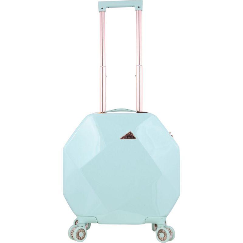 ケンジー メンズ スーツケース バッグ Gemstone 20 Dual Spinner Carry-On with TSA Lock Mint