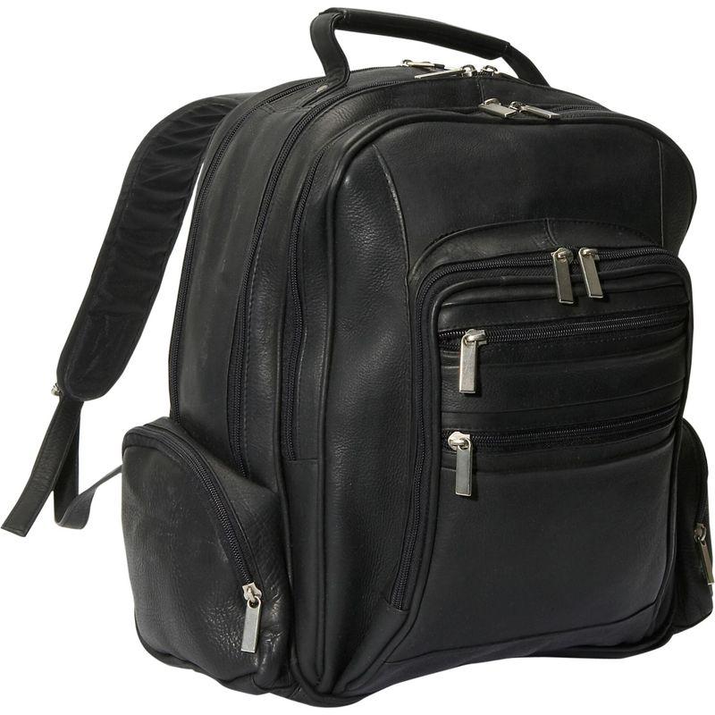 デビッドキング メンズ スーツケース バッグ Oversize Laptop Backpack Black