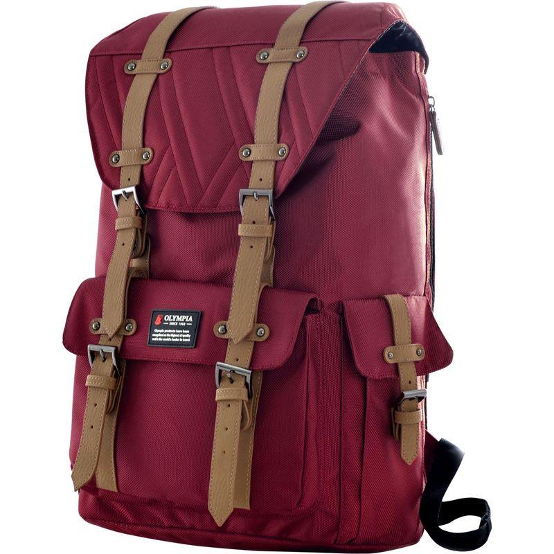 オリンピア メンズ バックパック・リュックサック バッグ Hopkins Backpack - 18 Wine