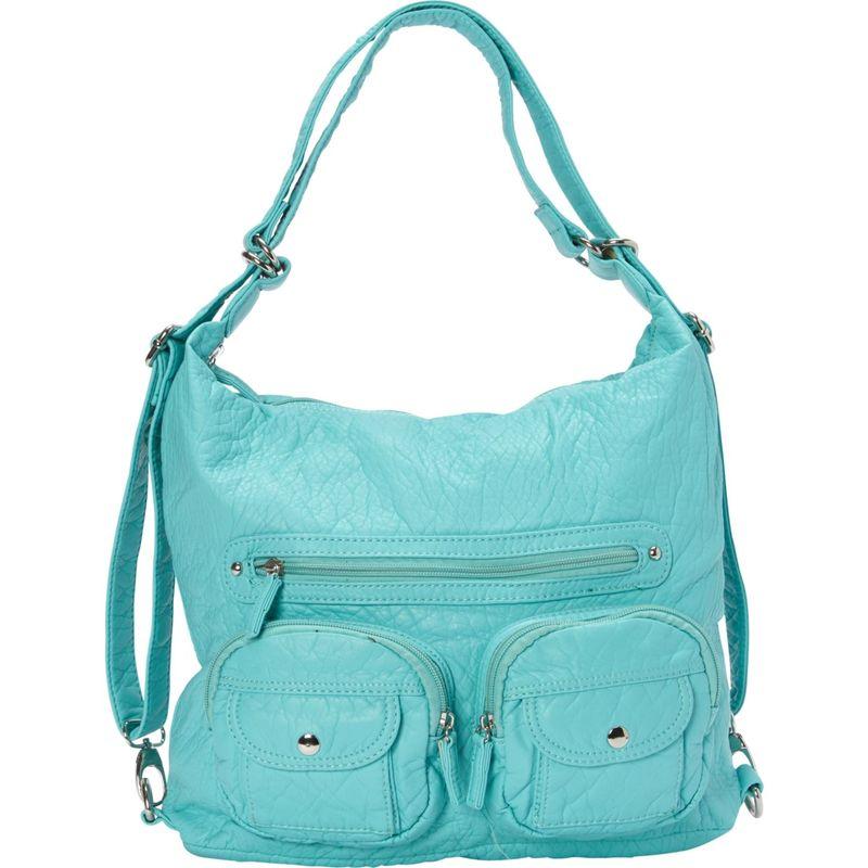 アンペレクリアーション メンズ ボディバッグ・ウエストポーチ バッグ Convertible Backpack Crossbody Purse Mint