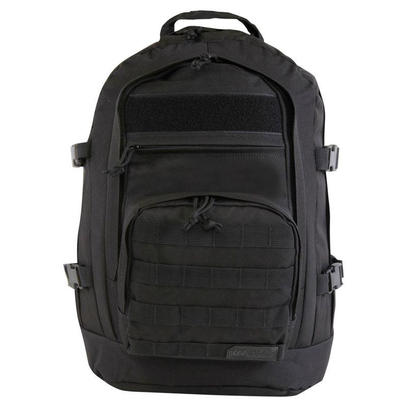 ハイランドタクティカル メンズ バックパック・リュックサック バッグ Basecamp Heavy Duty Tactical Backpack Black