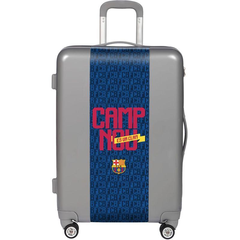ウゴバッグ メンズ スーツケース バッグ FCB Camp Nou 26.5 Hardside Spinner Silver