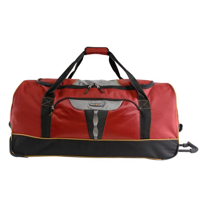 パシフィックコースト メンズ スーツケース バッグ Extra Large 35 Rolling Duffel Bag Burgundy