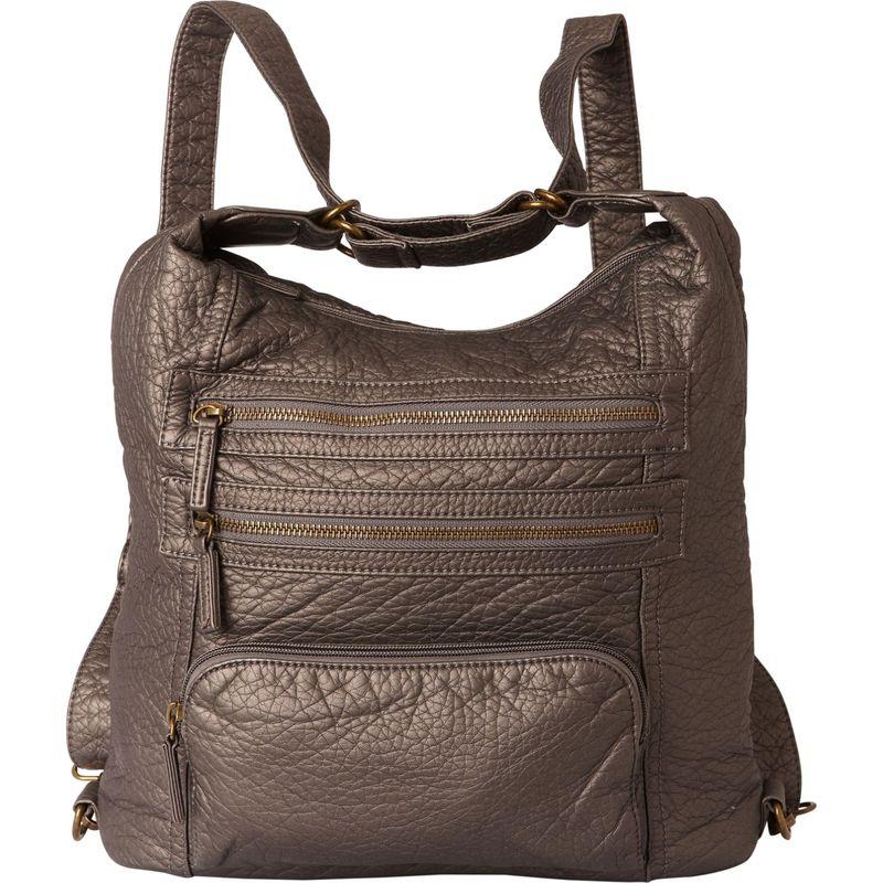 アンペレクリアーション メンズ ショルダーバッグ バッグ The Lisa Convertible Backpack Dark Silver