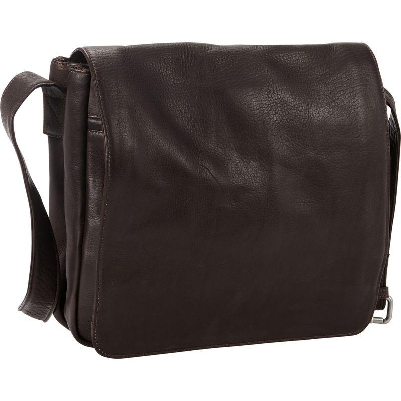 ピーターソン メンズ ショルダーバッグ バッグ Coven Leather Messenger Brown