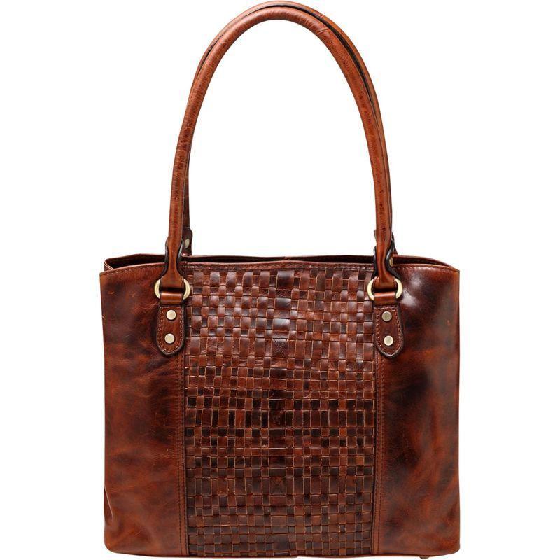 ビンセンゾレザー メンズ ショルダーバッグ バッグ Helen Vintage Leather Handbag Chestnut